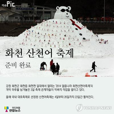 Thousands Gather at Hwacheon Ice Festival