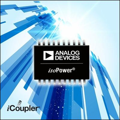 Industry's smallest isolated DC-to-DC converters, available from RS Components, address power and space constraints in diverse applications