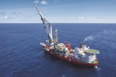 The Seven Borealis is a Subsea 7 state-of-the-art strategic enabler ideally suited to meeting the exacting requirements of today's ultra-deep and deepwater projects in the world's deepest and harshest environment. Image courtesy of Subsea 7, who is OTC Asia Lanyard Sponsor and exhibiting in Hall 2, Booth B202
