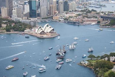 Sydney Sparkles As Australia Day Celebrations Embrace The Harbour