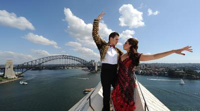 Sydney Sparkles as Baz Luhrmann Directs the Largest Outdoor Ballroom Dancing Event Ever Seen In Australia