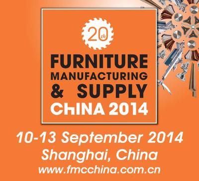 FMC China 2014. Sept. 10-13, 2014. Woodworking Machinery & Furniture Raw Materials. Shanghai, China.