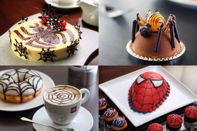 Harbour City's restaurant outlets created special menu in Spider-Man themes