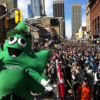 16th Global MariJuana March hits Toronto this Saturday!