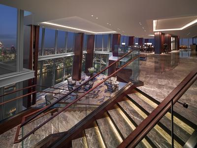 Level 34 Lobby - Shangri-La Hotel, At The Shard, London