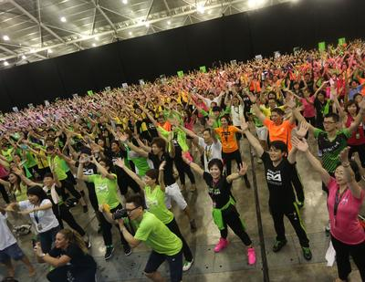 In line with Herbalife's promotion of healthy active lifestyle among its independent distributors and consumers, it organized a series fitness activities throughout the Extravaganza event.