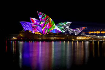 Sydney is Filled with Colour and Light for the Sixth Annual Vivid Sydney Festival