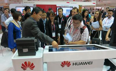 Huawei Showcases its Latest End-to-End Enterprise Solutions at CommunicAsia 2014