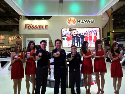 Huawei Debuts HUAWEI Ascend P7 in Singapore at CommunicAsia 2014
