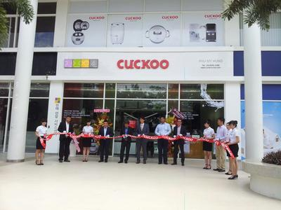 Launching cutting, CUCKOO Electronics Opens First 'Cuckoo Brand Shop' in Ho Chi Minh