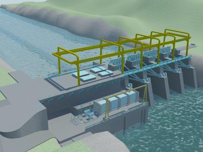POSCO E&C Begins Construction of Nam Lik1 Hydroelectric Power Plant in Laos
