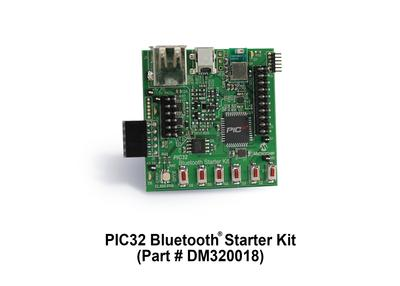 Microchip PIC32 Bluetooth® Starter Kit