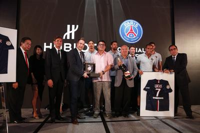 G.H.MUMM House of Champagne supports Paris Saint-Germain on their inaugural trip to Asia