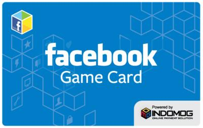 INDOMOG Facebook Game Card