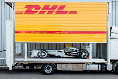 DHL delivers Formula E's inaugural race in Beijing