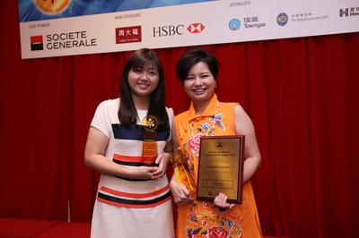 L-R: Natalie Ng, APAC Training Workstream Leader, SAP; and Yvonne Yam, APAC Change Manager, SAP; beaming at their wins.