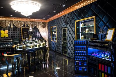 The interior of the Fragrance Du Bois Flagship Boutique, Starhill Gallery, Kuala Lumpur