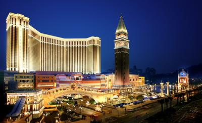 Sands China Ltd.'s integrated resorts, like The Venetian Macao (pictured), and hotels, restaurants and spas at Sands Resorts Cotai Strip Macao were recognised with close to 100 awards and accolades in 2014.