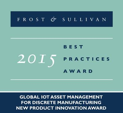 2015 Global IoT Asset Management for Discrete Manufacturing New Product Innovation Award