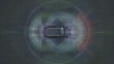 Autonomous drive technology – Complete system solution: The holistic solution generates exact positioning and a complete 360-degree view of the car's surroundings. This is achieved by a combination of multiple radars, cameras and laser sensors.