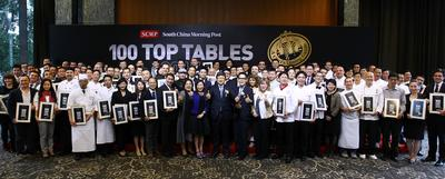 At a ceremony held yesterday, fine-dining restaurants named in the 100 Top Tables 2015 - A CEO's Dining Guide were commended with a certificate of recognition from the South China Morning Post.