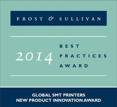 Mycronic receives the 2014 Global SMT Printers New Product Innovation Award