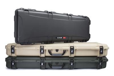 Designed for both weapons and industrial equipment, NANUK 990 & 995 Long Cases offer the extra length you need to protect your equipment.