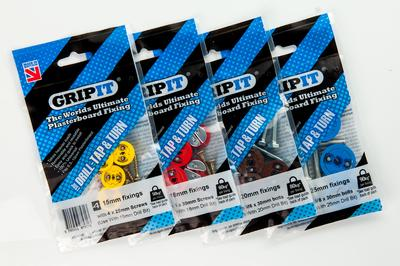 RS Components appointed first global distributor for GripIt Fixings, brings revolutionary plasterboard fixing to Asia