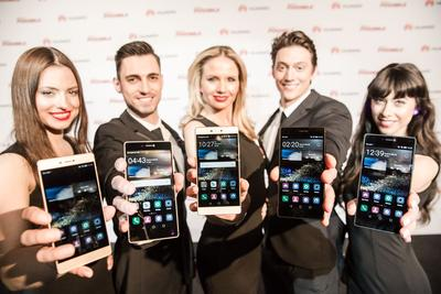 Huawei P8 wins record-high global coverage from London launch