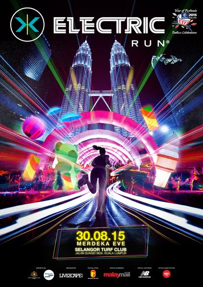 Electric Run, 30th August, Selangor Turf Club