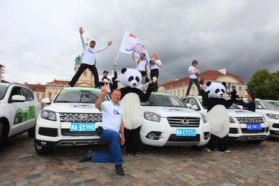"The event themed by ""European Fans' Visit to Panda's Hometown - Sichuan"" was launched in Paris"