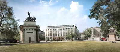 First image revealed of The Peninsula London in Belgravia, central London