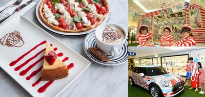 Harbour City has collaborated with different partners to launch the Where's Wally x MINI car show, PizzaExpress Wally's Special menu and a series of kid's workshop
