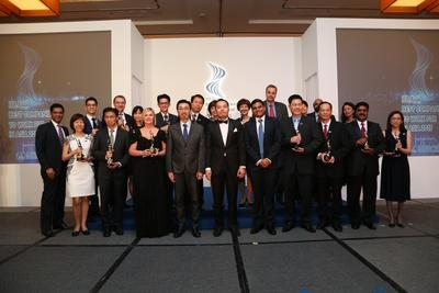 The winners of HR Asia Best Companies To Work For In Asia 2015