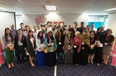 Group photo of all lecturers and speakers during MIFF FDC 2016 Networking Workshop on 13 July