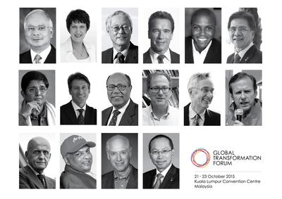 Luminary icons to take centre stage at inaugural global event in Kuala Lumpur, Malaysia.