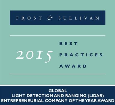 Quanergy Systems, Inc. receives 2015 Global Light Detection and Ranging (LiDAR) Entrepreneurial Company of the Year Award