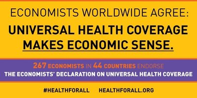 Lawrence H. Summers leads Economists' Declaration on Universal Health Coverage