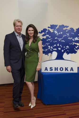 MEXICO -  The Earl Spencer traveled to Mexico to accompany his wife The Countess Spencer as she was awarded the prestigious Ashoka Fellowship for her work founding the Whole Child International charity. The fellowship was given in recognition of her vision and the profound investment she has made over 12 years building Whole Child International and will help generate further awareness for vulnerable and underserved children in the world.