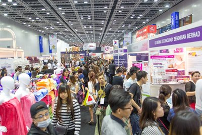 Visitor numbers were up 7% from the previous year at beautyexpo