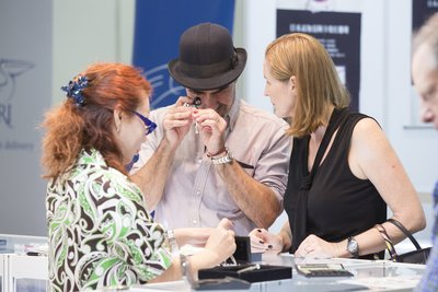 Showcased over 100,000 pieces of fine jewellery in ten product-themed and country pavilions