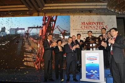 Opening Ceremony of the Marintec China 2015