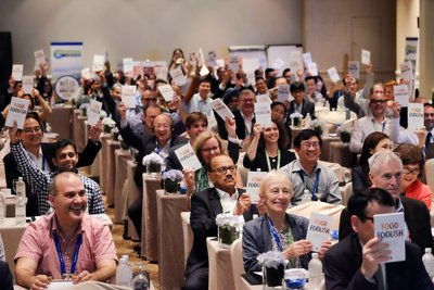 Participants at World Cold Chain Summit to Reduce Food Waste
