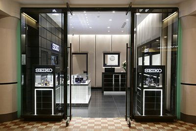 March 2nd 2016 Seiko first boutique in Australia located in the QVB Sydney. Photographer: Adam Yip
