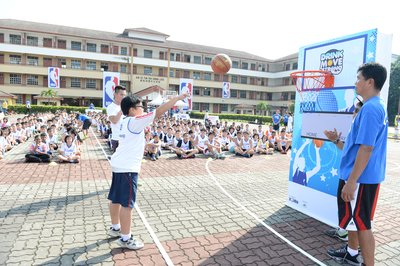 Leading the way - FrieslandCampina's partnership with Junior NBA promotes healthier eating and lifestyle choices