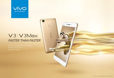 Vivo Releases V3 and V3Max Smartphones to Deliver a Smoother Audio-visual Experience
