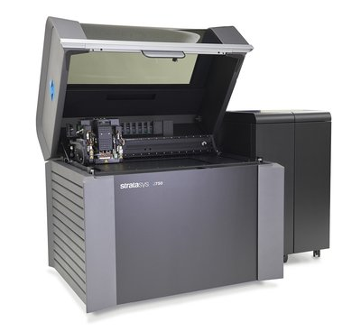 The Stratasys J750, the premier addition to the Objet Connex multi-color, multi-material series of 3D Printers, allows customers to choose from more than 360,000 different color shades plus multiple material properties -- ranging from rigid to flexible and opaque to transparent.