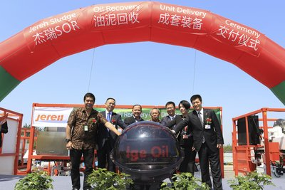 Jereh SOR unit Delivery Ceremony for Indonesian Project
