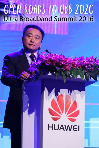 Joe Deng, President of Carrier Business, Huawei Southern Pacific hopes to create win-win ultra-broadband development opportunities together with the industry players at the summit.