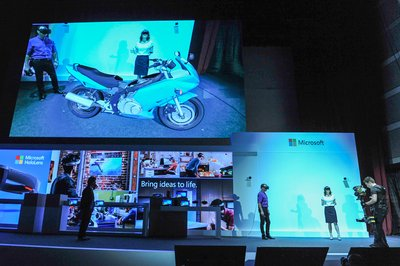 Microsoft HoloLens makes its debut in Taiwan